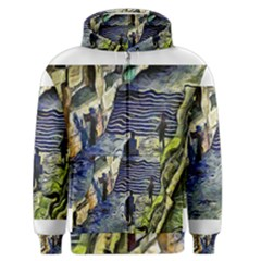 Banks Of The Seine KPA Men s Zipper Hoodies