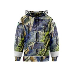 Banks Of The Seine KPA Kids Zipper Hoodies