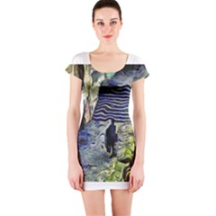 Banks Of The Seine KPA Short Sleeve Bodycon Dresses