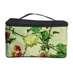 Vintage Style Floral Design Cosmetic Storage Cases