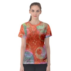 Fading shapes Women s Sport Mesh Tee