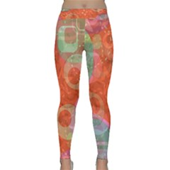 Fading shapes Yoga Leggings