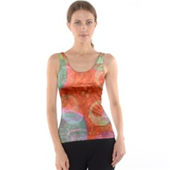 Fading shapes Tank Top