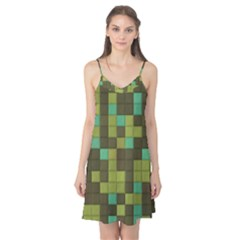 Green tiles pattern Camis Nightgown