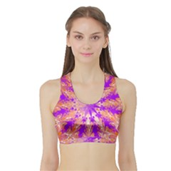 Fre Women s Sports Bra With Border