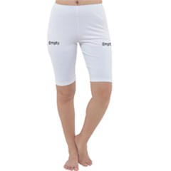 Nuclear Fission Cropped Leggings