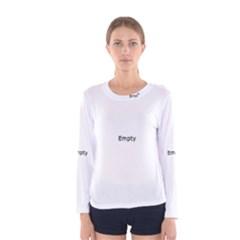 DNA Fingerprint Women s Long Sleeve T-shirts