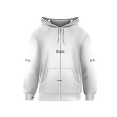 DNA Fingerprint Kids Zipper Hoodies