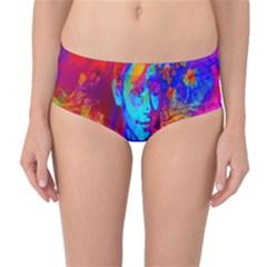 Brainstorm Mid Waist Bikini Bottoms