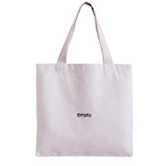 Eye Illustration Zipper Grocery Tote Bags