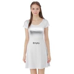 Eye Illustration Short Sleeve Skater Dresses
