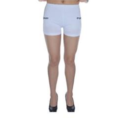 Uk Hearts Flag Skinny Shorts