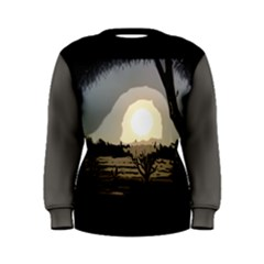 Sunrise Over The Plains Women s Sweatshirts