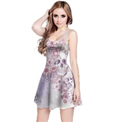Skull Garden Reversible Sleeveless Dress