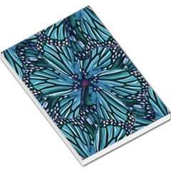 Modern Floral Collage Pattern Large Memo Pads