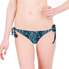 Modern Floral Collage Pattern Bikini Bottoms