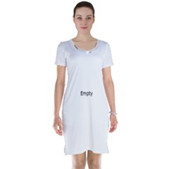 3 Kinds Of People Short Sleeve Nightdresses