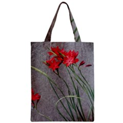 Red Flowers Classic Tote Bags