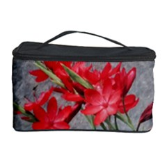 Red Flowers Cosmetic Storage Case