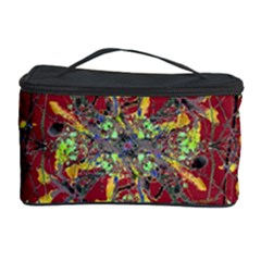 Oriental Floral Print Cosmetic Storage Cases