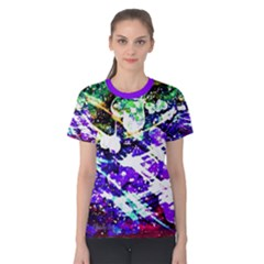 Officially Sexy Floating Hearts Collection Purple Short Sleeve T Shirt