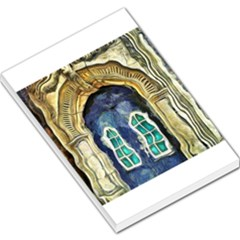 Luebeck Germany Arched Church Doorway Large Memo Pads