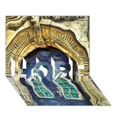 Luebeck Germany Arched Church Doorway Hope 3d Greeting Card (7x5)