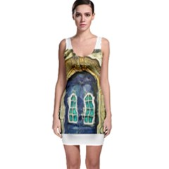 Luebeck Germany Arched Church Doorway Bodycon Dresses
