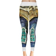 Luebeck Germany Arched Church Doorway Women s Leggings