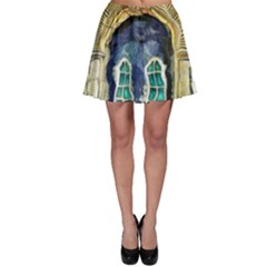 Luebeck Germany Arched Church Doorway Skater Skirts