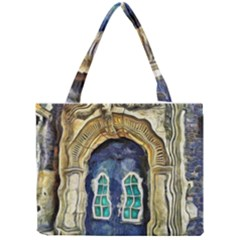 Luebeck Germany Arched Church Doorway Tiny Tote Bags