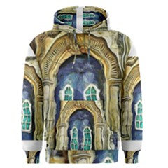 Luebeck Germany Arched Church Doorway Men s Pullover Hoodies