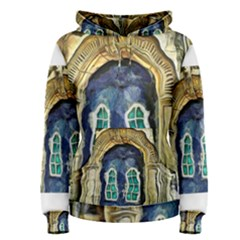 Luebeck Germany Arched Church Doorway Women s Pullover Hoodies