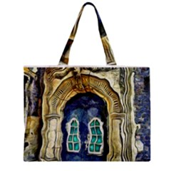 Luebeck Germany Arched Church Doorway Zipper Tiny Tote Bags