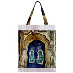 Luebeck Germany Arched Church Doorway Zipper Classic Tote Bags