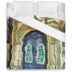 Luebeck Germany Arched Church Doorway Duvet Cover (double Size)
