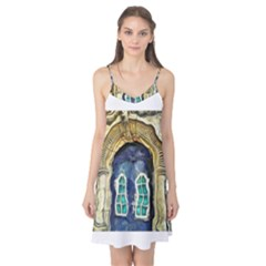 Luebeck Germany Arched Church Doorway Camis Nightgown