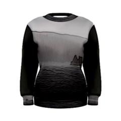 Lochranza Castle Storm Women s Sweatshirts