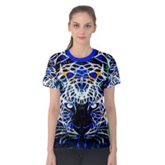 Officially Sexy Panther Collection Blue Short Sleeve T Shirt