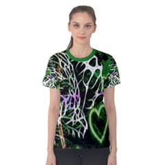 Officially Sexy Panther Collection Green Short Sleeve T-shirt