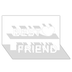 Florida Best Friends 3D Greeting Card (8x4)
