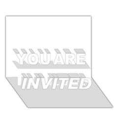 Florida You Are Invited 3d Greeting Card (7x5)