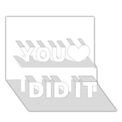 Florida You Did It 3d Greeting Card (7x5)