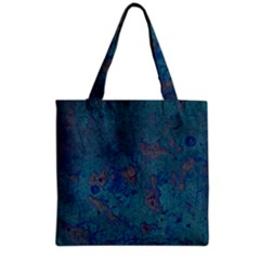 Urban Background Grocery Tote Bags