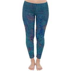 Urban Background Winter Leggings