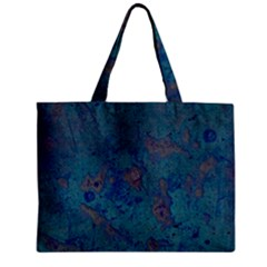 Urban Background Zipper Tiny Tote Bags