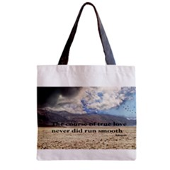 Shakespeare Zipper Grocery Tote Bags
