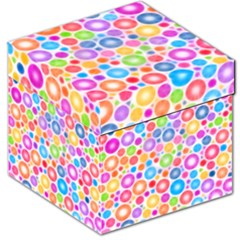 Candy Color s Circles Storage Stool 12