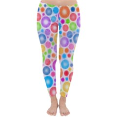 Candy Color s Circles Winter Leggings
