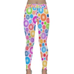 Candy Color s Circles Yoga Leggings